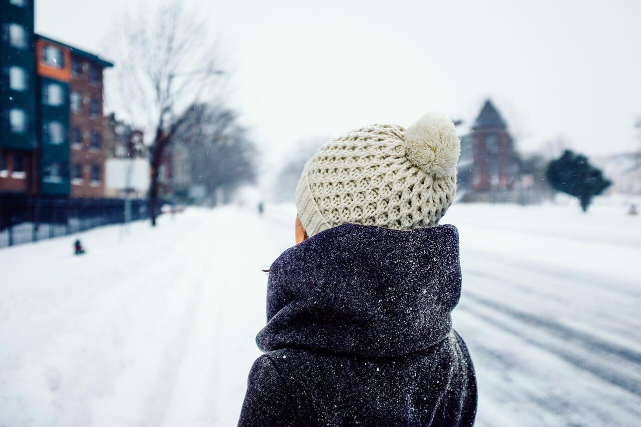 ropa con capas frio