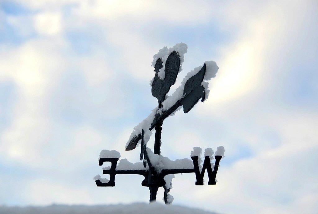 temporal viento y nieve