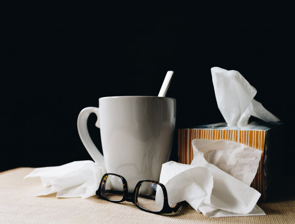 resfriado y alergia