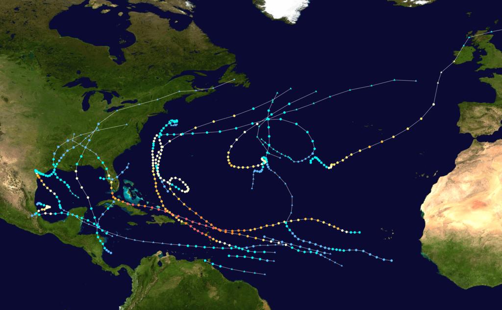 Hurricane Harvey  Map By Caman Islands