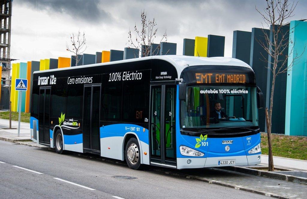 autobus electrico emt