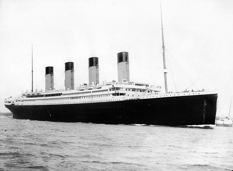 meteorología Titanic