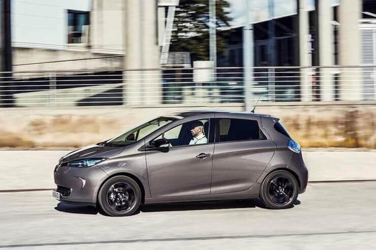 coche electrico renault zoe