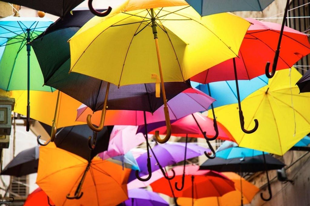 lluvia paraguas abril agua mil