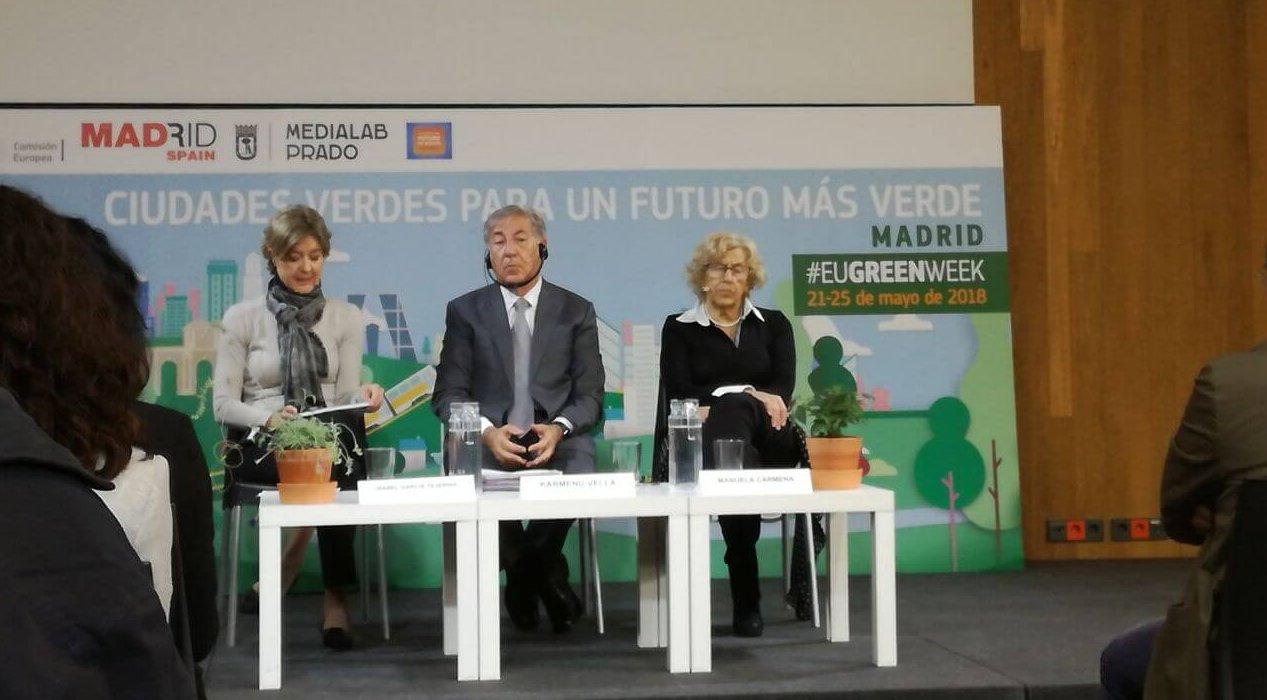 *Sesión de cierre de la Semana Verde Europea en Madrid