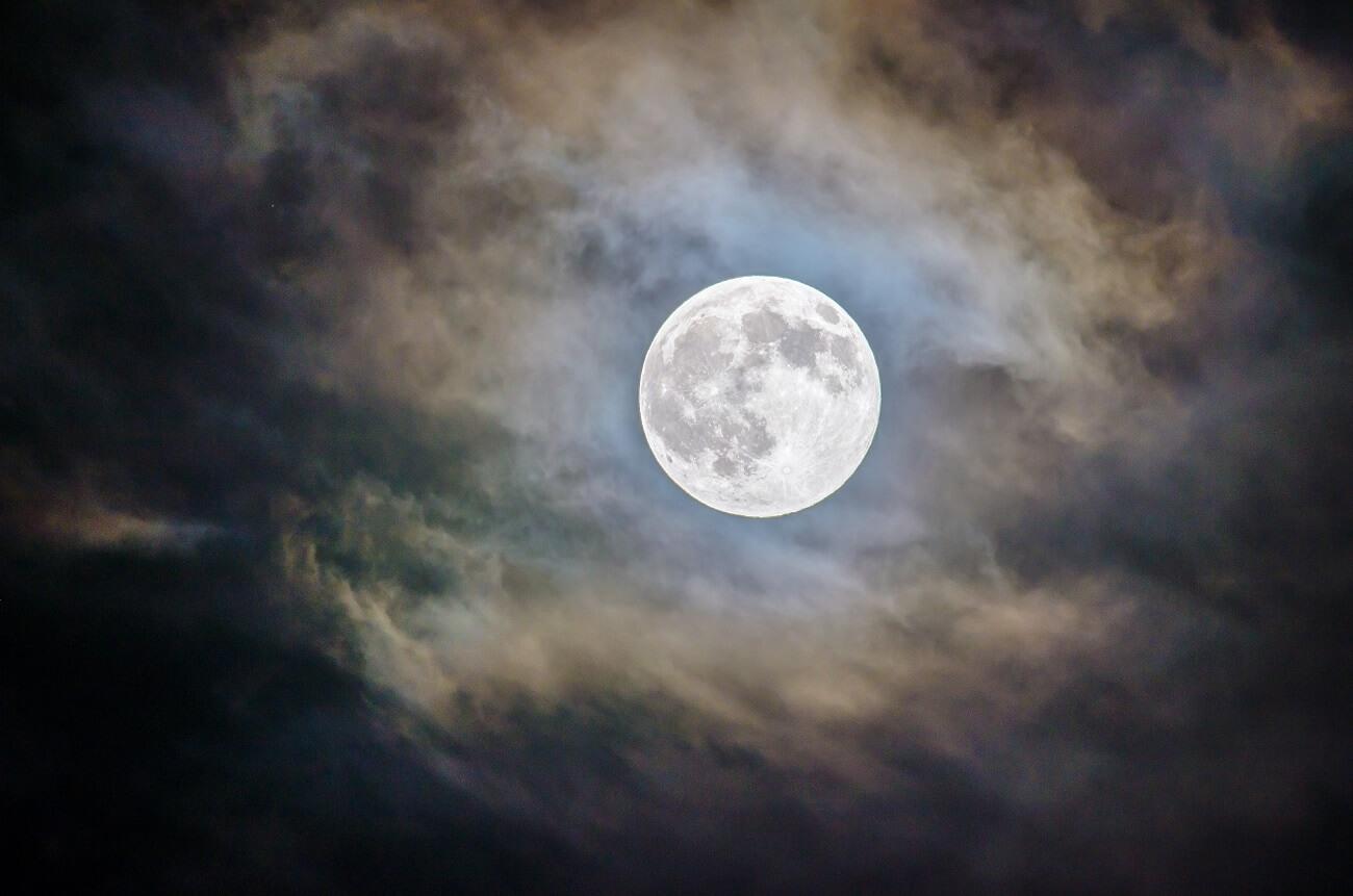 Luna Llena De Junio 2018: La Luna De La Fresa
