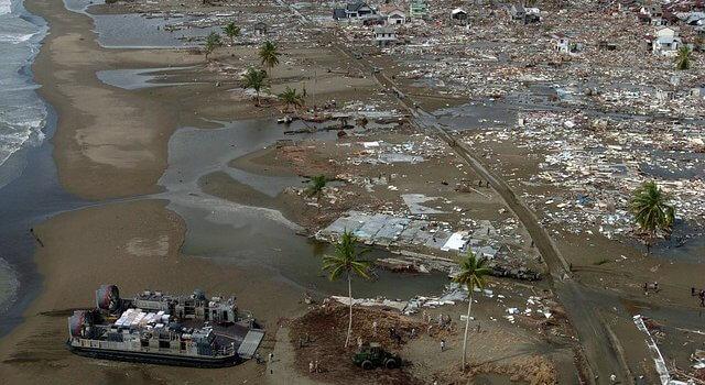 Consecuencias de un tsunami