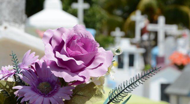 cementerio flores