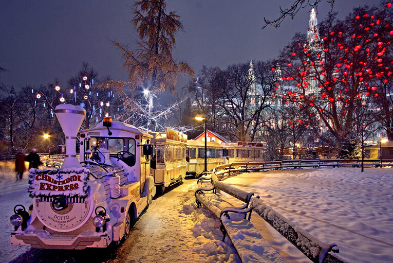 viaje viena en navidad invierno
