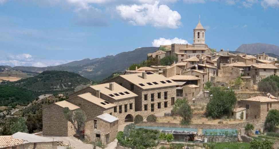 el pueblo de huesca de roda de isábena se encuentra entre los 11 pueblos mas bonitos de españa