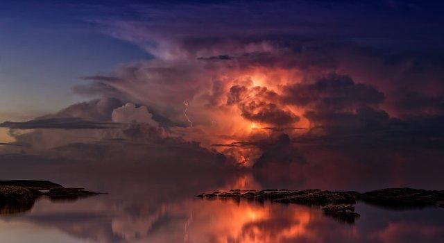 tormentas de verano en febrero