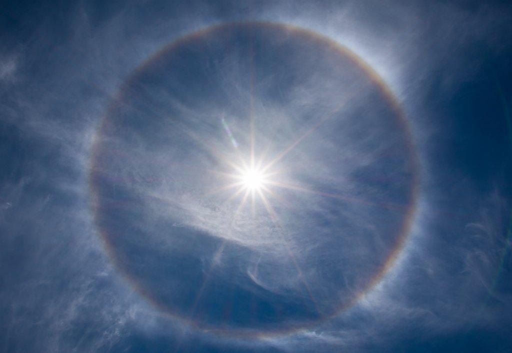 identificar tipos de nubes_halo solar