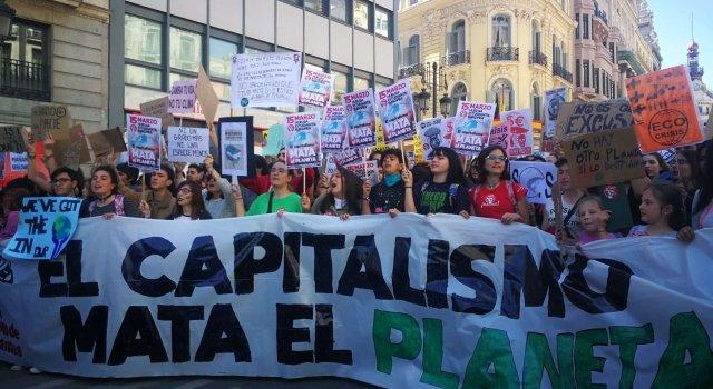 marcha madrid huelga cambio climatico
