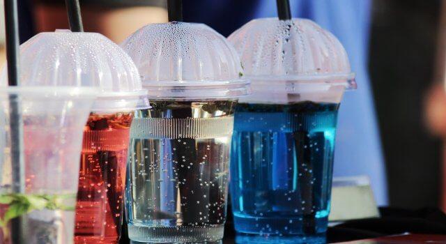 plastico en la comida
