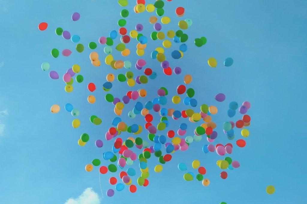 globo de helio contaminacion