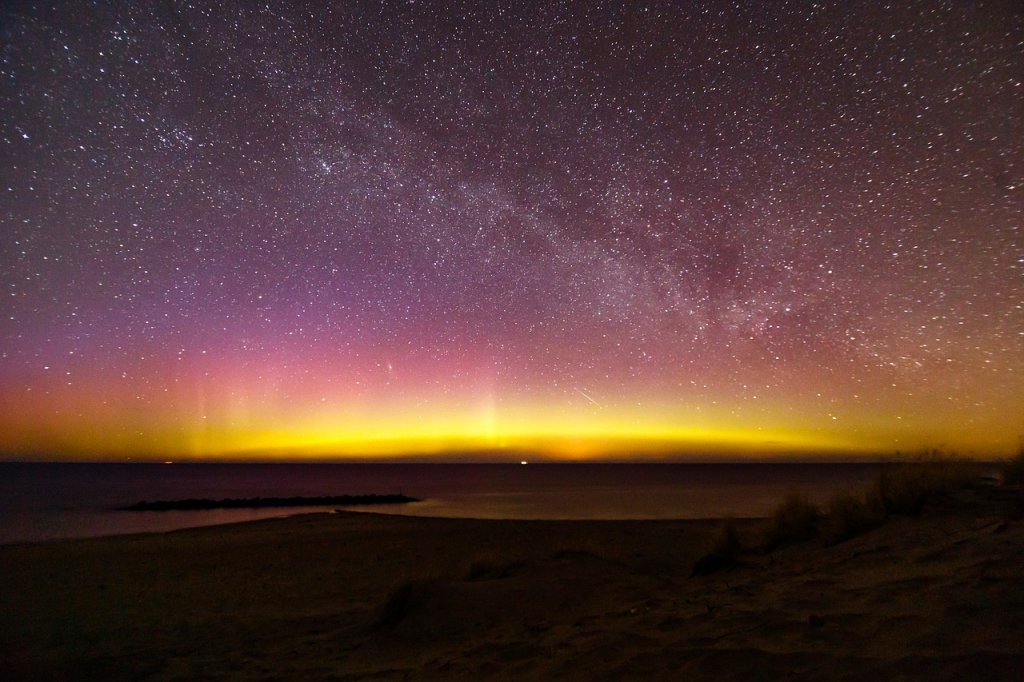 tormentas solares auroras boreales