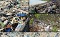 Residuos de plástico en el mar