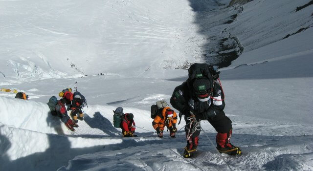 everest escaladores