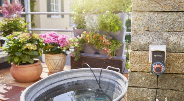 recoger agua de lluvia Gardena