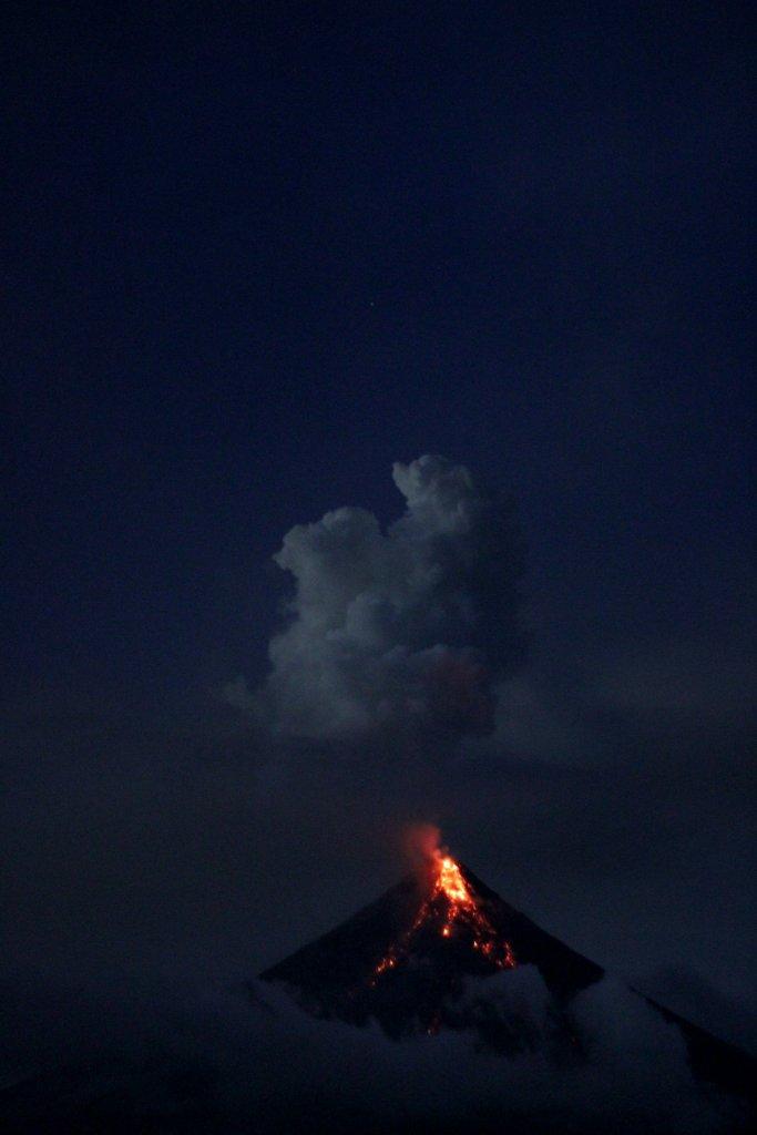 volcanes emision de gases contaminantes