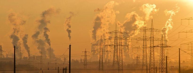 gases contaminantes emisiones fábricas