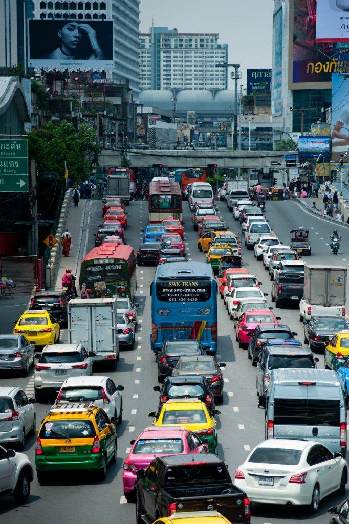 gases de efecto invernadero trafico coches