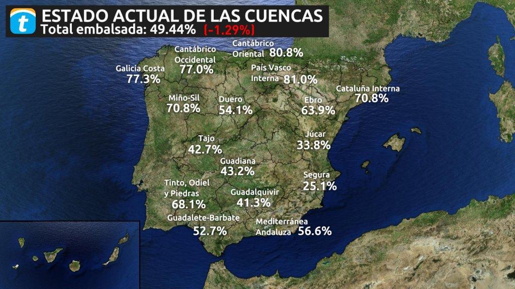 Los Embalses Bajo Minimos La Sequia Vuelve A Espana
