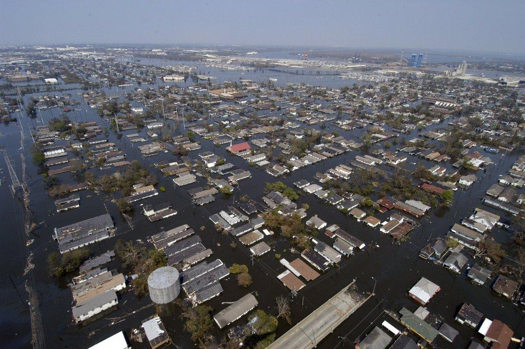 Asi quedó Nueva Orleans tras el huracán Katrina