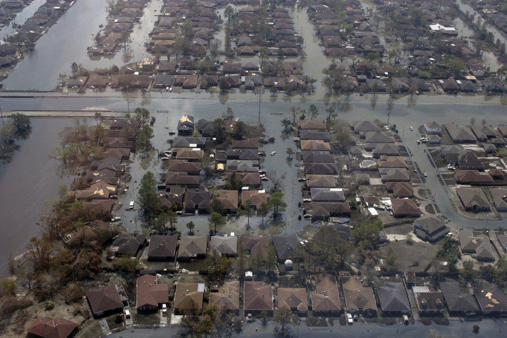 Huracán Katrina en Nueva Orleans