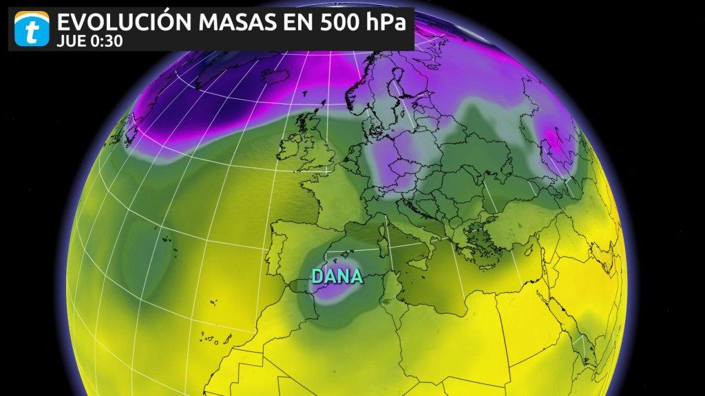 DANA mediterraneo temporal septiembre