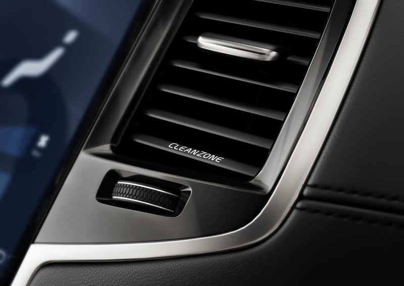 Sistema Clean Zone Volvo