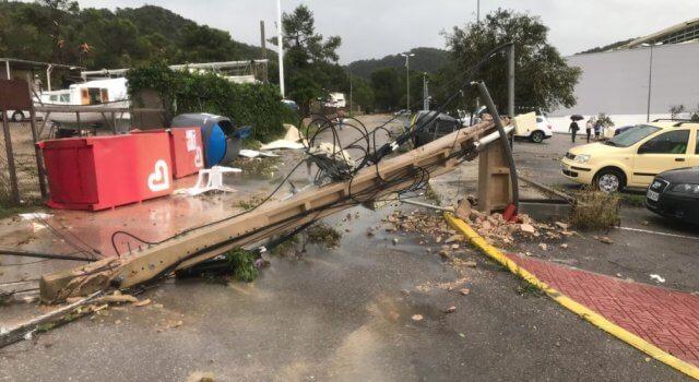 tornado en ibiza 2019