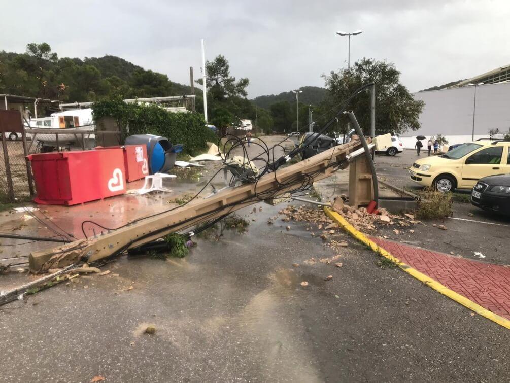Resultado de imagen de ibiza tornado