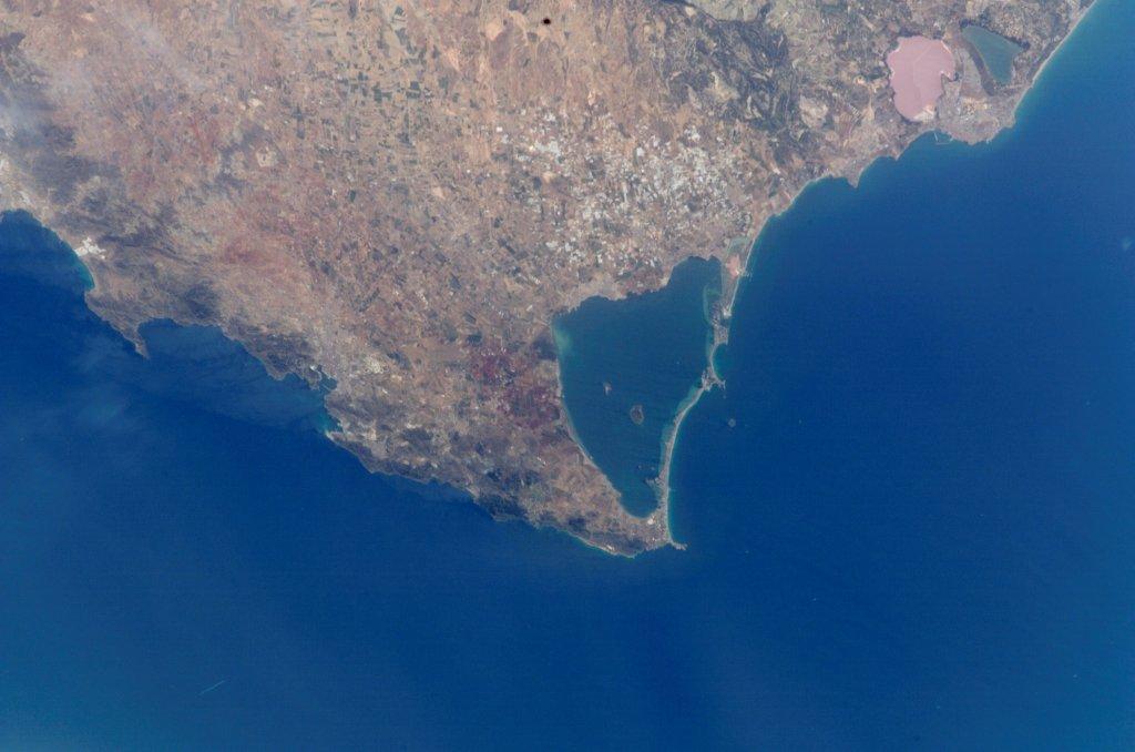 Cartagena_Mar_Menor_i_Cap_de_Pals_foto_satèl·lit