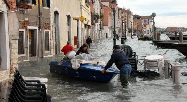 acqua alta venecia inundaciones