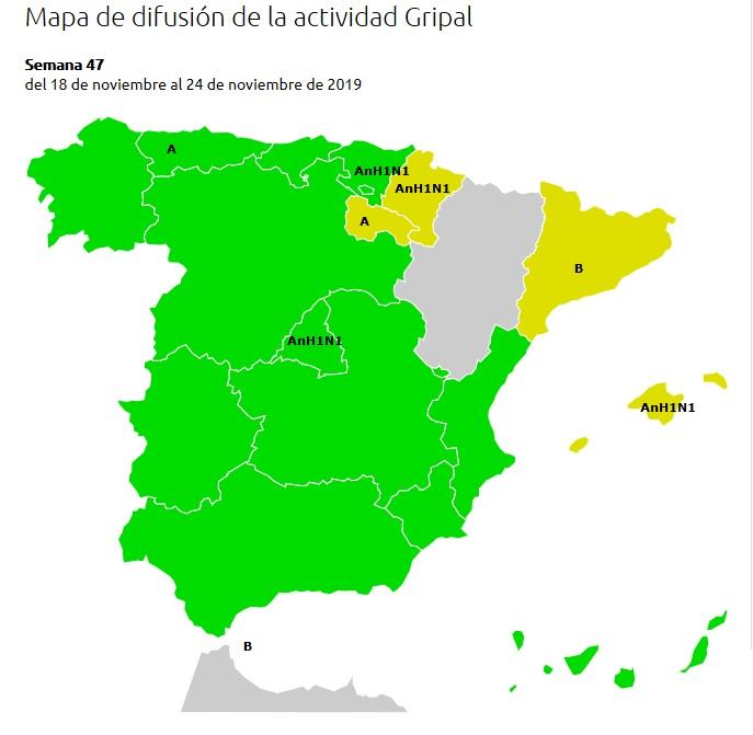 gripe-espana-casos-provincias