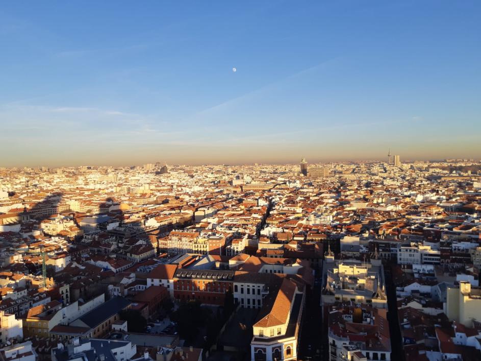 boina de contaminacion en madrid