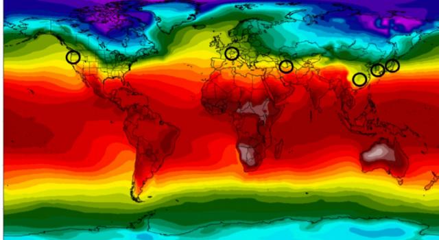 mapa coronavirus temperatura