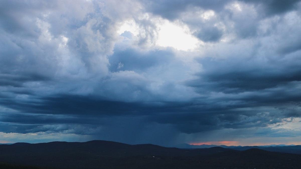 Lluvia nubes