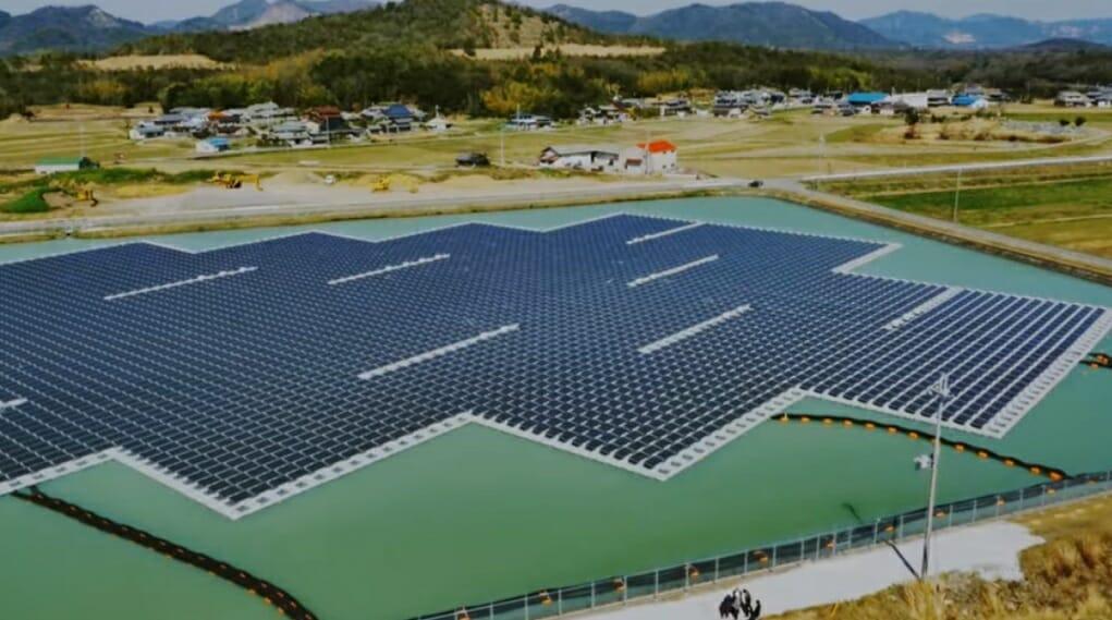 kyocera placas solares en el mar