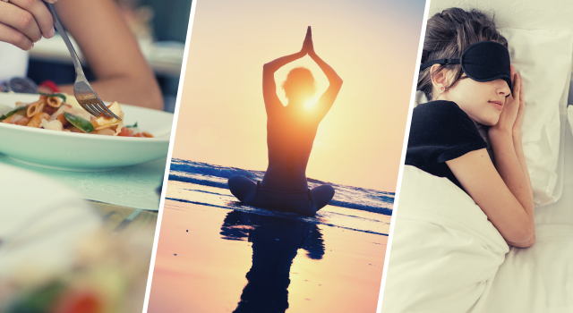 rutina saludable alimentacion deporte y sueño