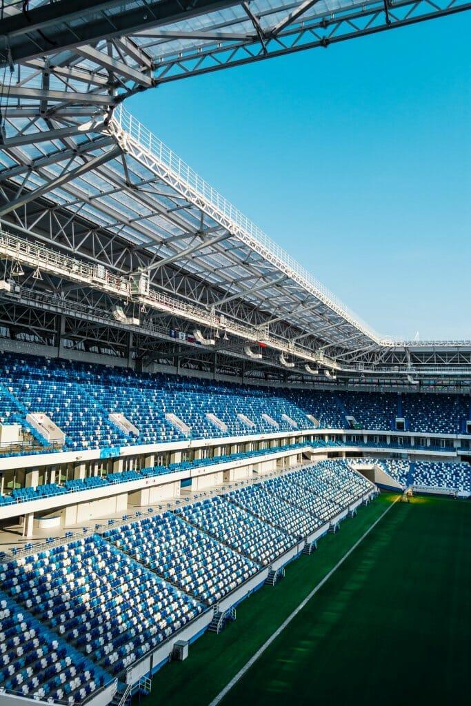 estadio fútbol  iniciativas sostenibles