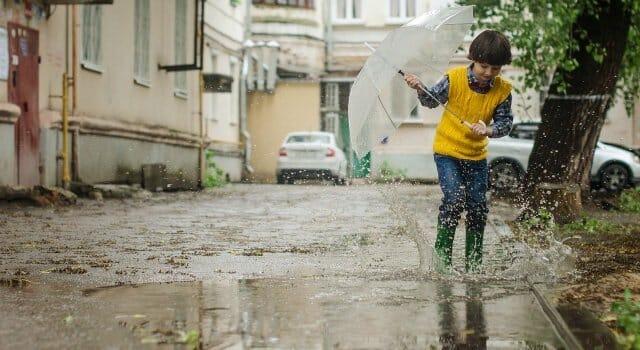 saca el paraguas va a llover
