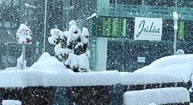 nieve en el Pirineo mayo 2021