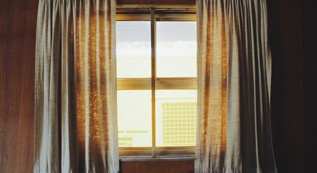 ventana en verano