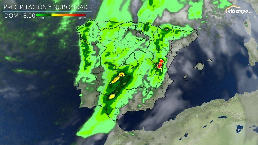 lluvia prevista