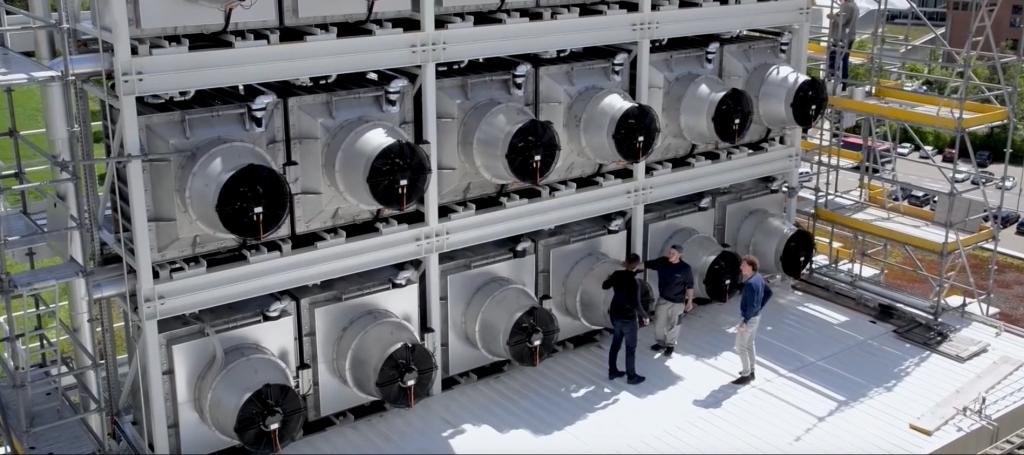 aspiradoras de CO2 california cambio climático