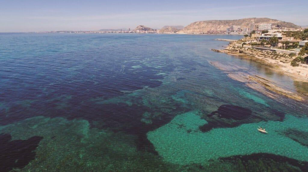 playa-paradisiaca-cala-huerta-alicante