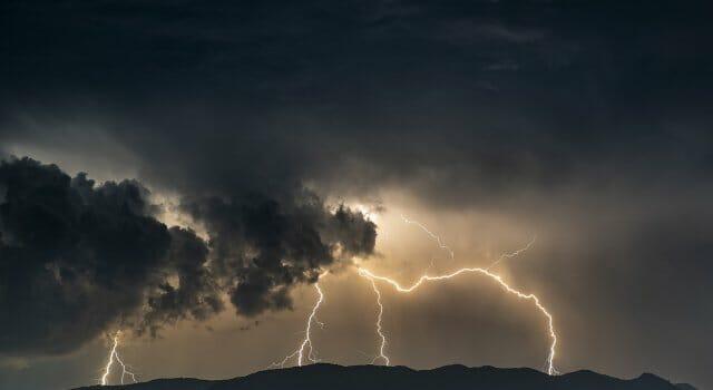 tormentas muy fuertes