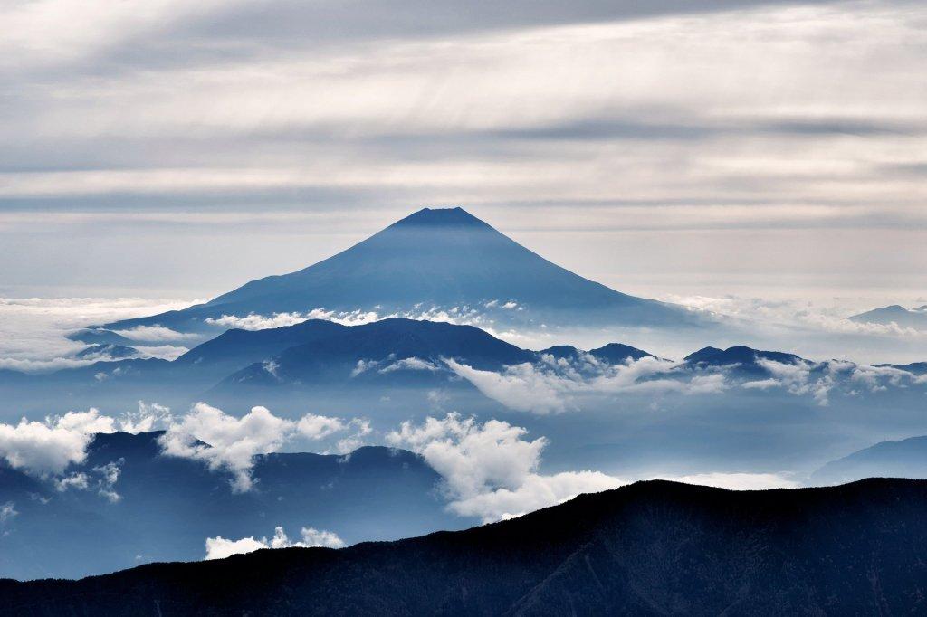 Monte Fuji Japón Juegos Olímpicos Tokio 2021